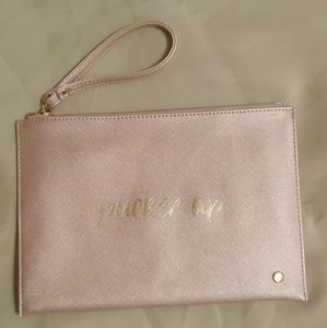 Clutch / wristlet never used